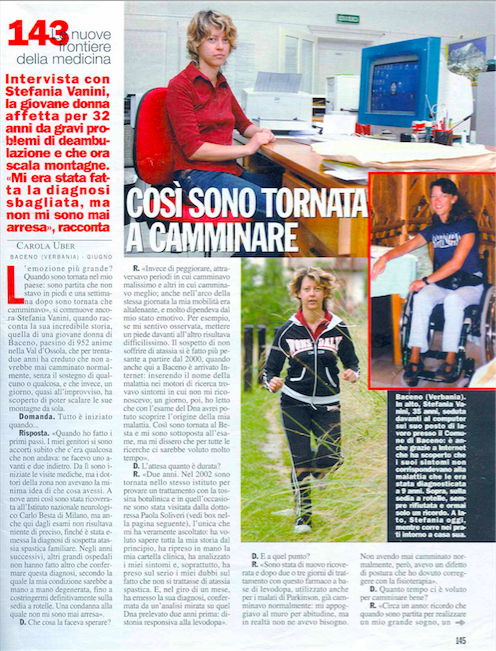 Chi Magazine - camminare