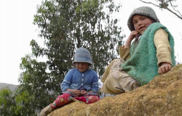 Pachas-Peru-Bambini